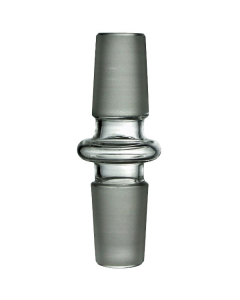 18mm Male To 18mm Male Glass Adaptor