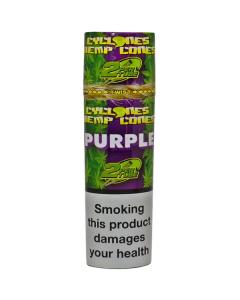 Cyclone Hemp Cones - Purple