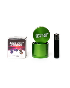 Medium Santa Cruz Shredder - 4 Part - Green