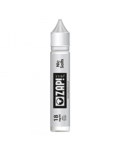 Zap! Nicotine Salt Shot - 10ml - 18mg