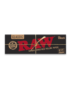 RAW Black - 1 1/4 Size
