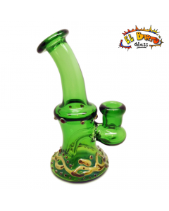 El Barto Glass - Oil Rig - Green