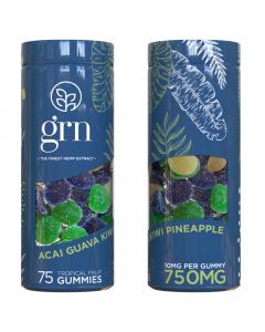GRN CBD - 750mg CBD Gummies - Blue