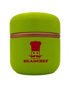 HeadChef Aluminium Strorage Cannistar - Large - Green