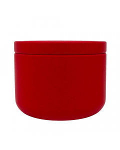 HeadChef Aluminium Strorage Cannistar - Small - Red