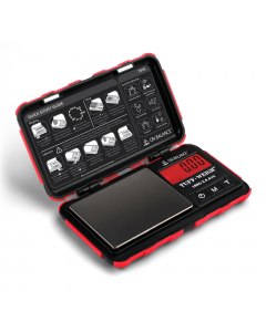 On Balance Tuff-Weigh Pocket Scale - Red - 100g x 0.01g