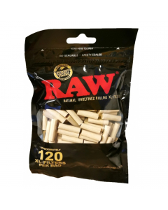 RAW Black XL Filters - 120 Per Bag