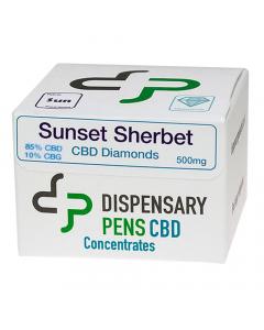 Dispensary Pens CBD Diamonds - Sunset Sherbet