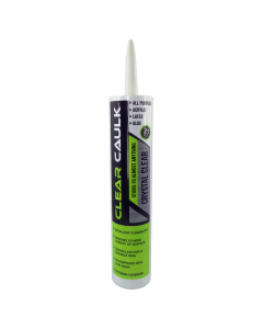 Clear Caulk Stash Tube