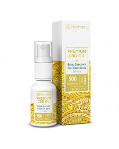 Harmony Broad Spectrum CBD Oral Spray - Citrus