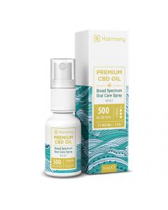 Harmony Broad Spectrum CBD Oral Spray - Mint