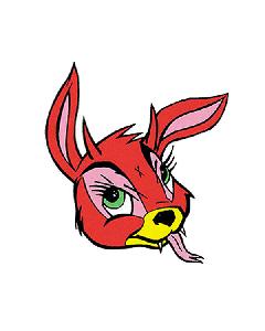 Vinyl Sticker - Kozik Bunny Evil