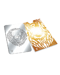 V Syndicate Grinder Card - 85 x 55mm - Roaring Lion