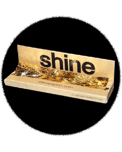 Shine 24k Gold Rolling Papers - 1.25 size