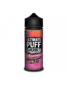 Ultimate Puff Sherbet - Strawberry Laces - 100ml Shortfill